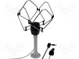 Omnidirectional TV antenna with holder 12/24V