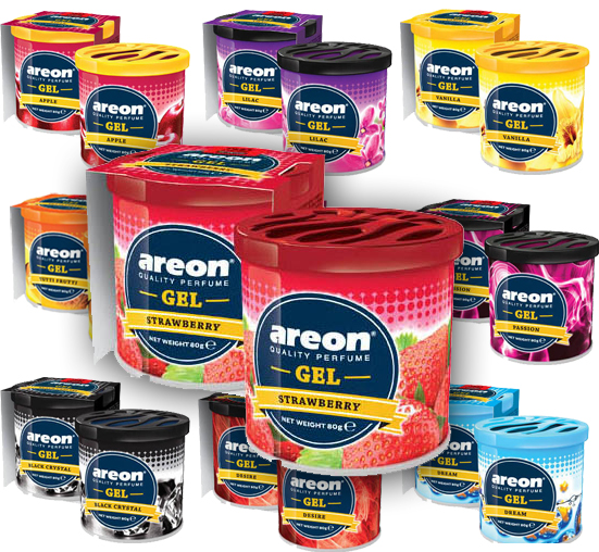 AREON GEL CAN - MIX