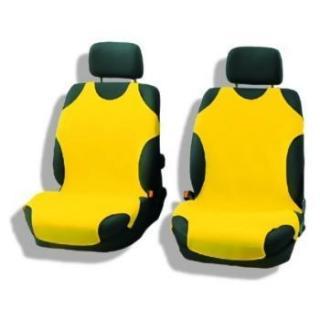 7206d4cb6b47 AUTOTRIKO molitan přední žluté - univerzální potahy sedadel - 2ks na přední  seda empty